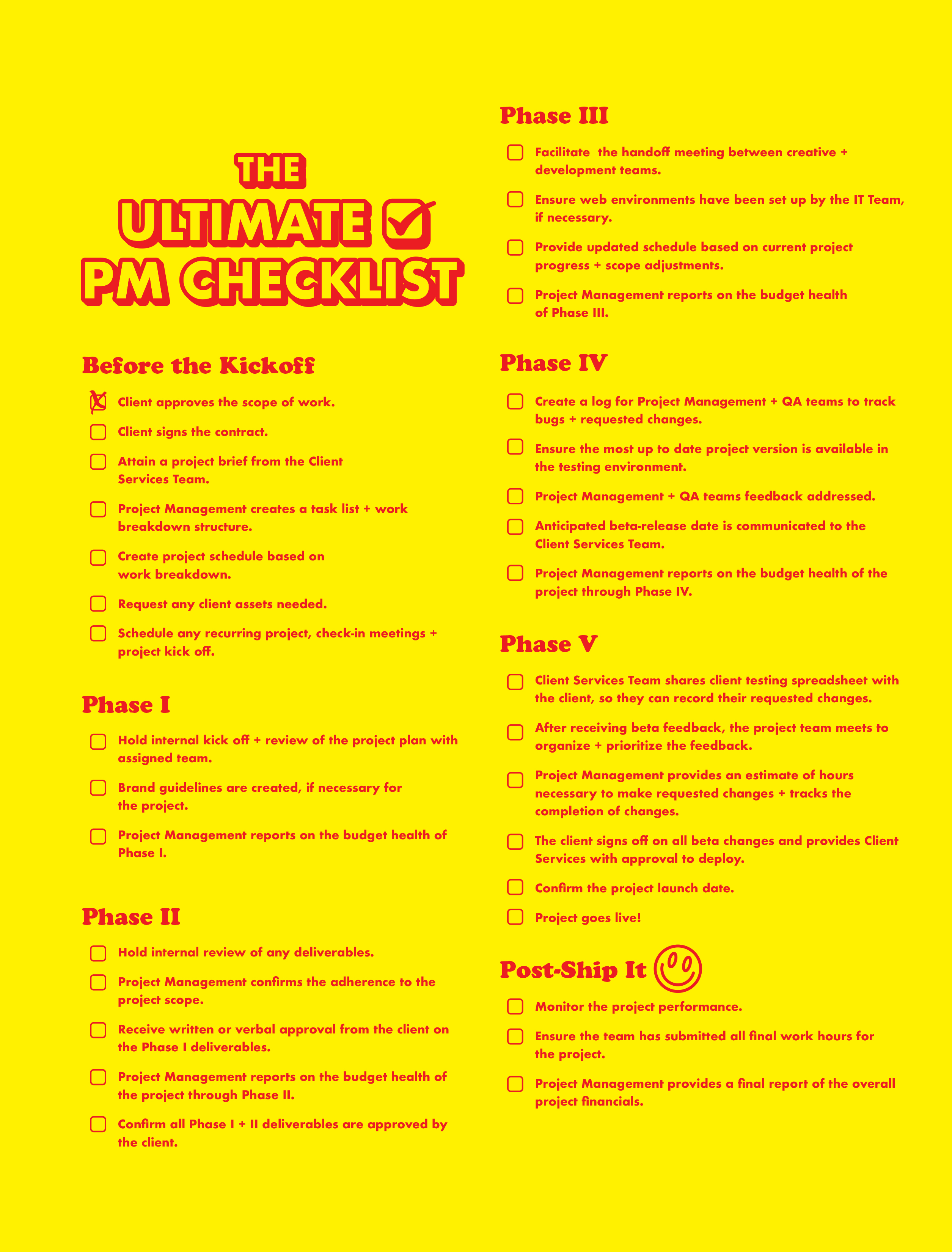 ultimate-project-management-checklist